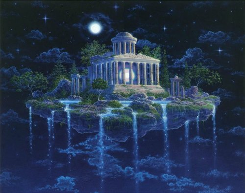 Landscapes-greek-temple-in-the